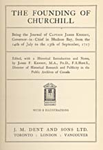 Image: Title page of Knight's published journal of 1717