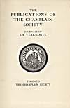 Élément graphique : Page de titre du récit des La Vérendrye publié par la Champlain Society
