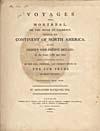 Élément graphique : Page de titre du récit des voyages de Mackenzie de 1789 et de 1793