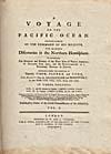Image: Page de titre du récit qu'a écrit Cook de son voyage à l'océan Pacifique