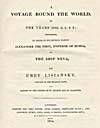 Image: Title page of Lisiansky's account of his 1803-1806 voyage