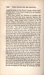 Image: Page from Parry's account of his voyages