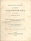 Image: Page from Franklin's account of his 1819-1821 voyage