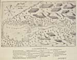 Map of Port-Royal by Champlain, 1613