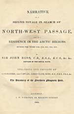 Image: Title page of Ross's account