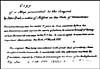 Image: Remarks by Saint-Jean de Crèvecoeur written on the copy of Peter Pond's map