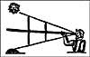 Élément graphique : Le compas quart-de-cercle de Davis, ou quadrant