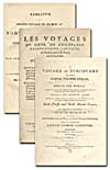 Image: Title pages of some accounts of voyages that searched for the Northwest Passage