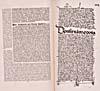 Élément graphique : Page tirée du récit de Christophe Colomb