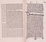 Image: Page tirée du récit de Christophe Colomb