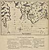 """Map: """"Port de Tadoucac,"""" by Samuel de Champlain, 1608"""