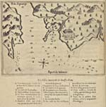 "Map: ""Port de Tadoussac"" by Samuel de Champlain"