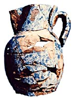 """Artifact: Pitcher recovered from the """"san juan"""""""