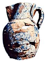 Artefact : Cruche récupérée du « San Juan »
