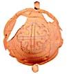 Artifact: 17th century ceramic bowl found at Ferryland, Newfoundland