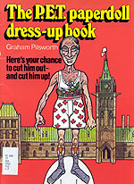 The P.E.T. Paperdoll Dress-up Book by Graham Pilsworth, 1982.