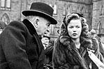 Prime Minister Mackenzie King and Shirley Temple opening the 7th Victory Loan Campain, October 21, 1944.