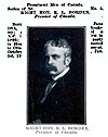 Trading card: Robert Borden.
