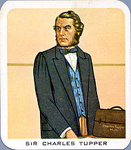 Carte de collection (recto) : Charles Tupper.