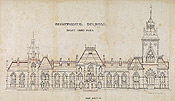 Departmental Buildings: Right Hand Block (East Block), c. 1863-1866.