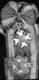 Knight Grand Cross of the Order of the Netherlands Lion Awarded to Mackenzie King, March 11, 1950.