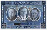 Canada, United States, Great Britain Friendship: proposed commemorative postage stamp design, 1941.