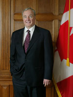 Photo du très honorable Paul Martin, Premier ministre du Canada, 2003 - 2006