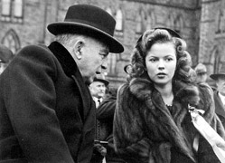 Mackenzie King avec Shirley Temple