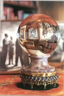 Mackenzie King's crystal ball.